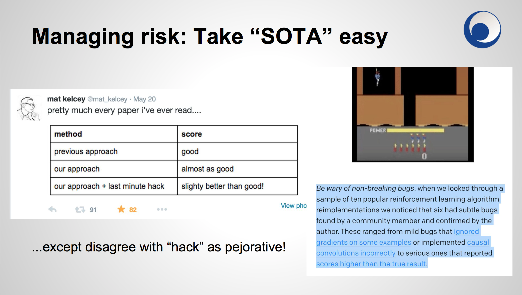take SOTA easy